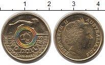 Изображение Монеты Австралия 2 доллара 2016 Латунь UNC