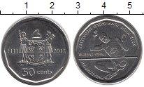 Изображение Монеты Фиджи 50 центов 2013 Медно-никель UNC