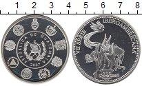 Изображение Монеты Гватемала 1 куэталь 2007 Серебро Proof