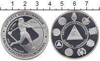 Изображение Монеты Никарагуа 10 кордоба 2007 Серебро Proof-