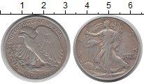 Изображение Монеты США 1/2 доллара 1939 Серебро VF