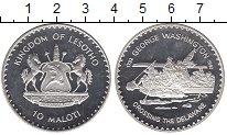 Изображение Монеты Лесото 10 малоти 1982 Серебро Proof