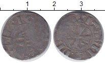 Изображение Монеты Франция 1 денье 0 Серебро VF XIV в.