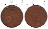 Изображение Монеты Великобритания 1 фартинг 1935 Медь VF