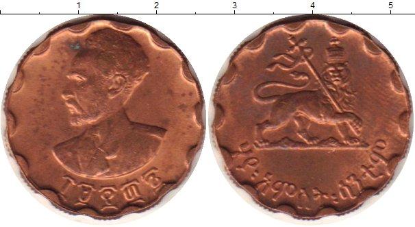 Картинка Монеты Эфиопия 5 центов Медь 0