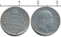 Изображение Монеты Индия 2 анны 1906 Серебро XF-