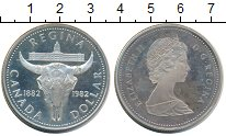 Изображение Монеты Канада 1 доллар 1982 Серебро UNC-