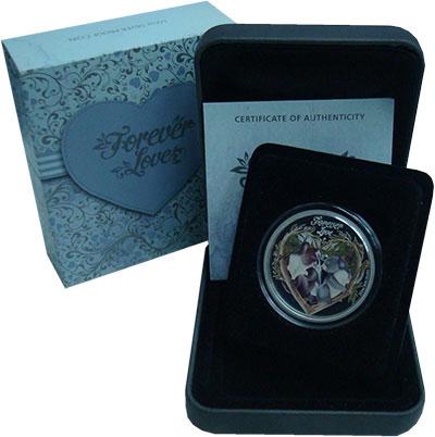 Изображение Монеты Тувалу 50 центов 2012 Серебро Proof- <br>Елезавета II. Лю