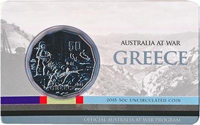 Изображение Подарочные монеты Австралия 50 центов 2015 Медно-никель
