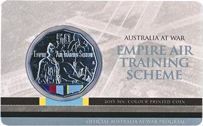 Изображение Подарочные монеты Австралия 50 центов 2015 Медно-никель  Австралийские авиато