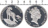 Изображение Монеты Острова Кука 5 долларов 1996 Серебро Proof-