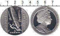 Изображение Монеты Великобритания Остров Мэн 1 крона 2003 Серебро Proof