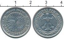 Изображение Монеты Веймарская республика 50 пфеннигов 1930 Медно-никель XF