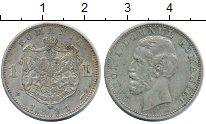 Изображение Монеты Румыния 1 лей 1881 Серебро XF Карол I