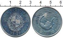 Изображение Монеты Уругвай 20 песо 1984 Медно-никель UNC
