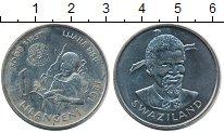 Изображение Монеты Свазиленд 1 лилангени 1981 Медно-никель UNC
