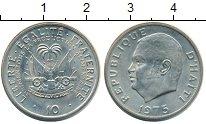 Изображение Монеты Гаити 10 сантимов 1975 Медно-никель UNC-