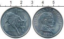 Изображение Монеты Филиппины 1 песо 1984 Медно-никель UNC-