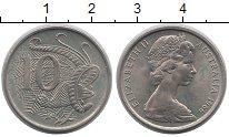 Изображение Монеты Австралия 10 центов 1966 Медно-никель UNC-