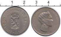 Изображение Монеты Люксембург 5 франков 1962 Медно-никель UNC- Великая  Герцогиня