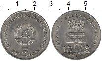 Изображение Монеты ГДР 5 марок 1987 Медно-никель UNC