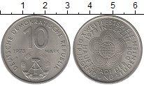 Изображение Монеты ГДР 10 марок 1973 Медно-никель UNC-