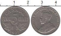 Изображение Монеты Канада 5 центов 1927 Медно-никель VF