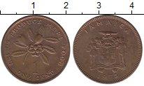 Изображение Монеты Ямайка 1 цент 1973 Медь UNC-