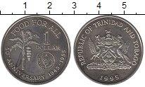 Изображение Монеты Тринидад и Тобаго 1 доллар 1995 Медно-никель UNC-