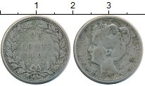 Изображение Монеты Нидерланды 25 центов 1904 Серебро VF