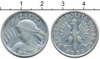 Изображение Монеты Польша 1 злотый 1925 Серебро XF