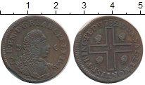 Изображение Монеты Сардиния 3 кальярезе 1732 Медь XF