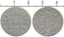 Изображение Монеты Польша 1 грош 1614 Серебро XF-