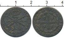 Изображение Монеты Италия Савойя 1 сольдо 1768 Серебро VF