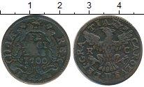 Изображение Монеты Италия Сицилия 1 грано 1700 Медь XF-