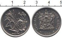 Изображение Монеты ЮАР 20 центов 1974 Медно-никель UNC