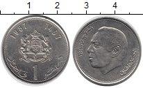 Изображение Монеты Марокко 1 дирхем 1987 Медно-никель UNC-