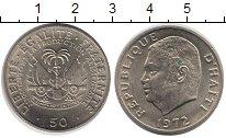 Изображение Монеты Гаити 50 сантим 1972 Медно-никель UNC-