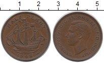 Изображение Монеты Великобритания 1/2 пенни 1948 Бронза XF