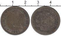Изображение Монеты Чили 20 сентаво 1881 Серебро F