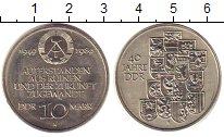 Изображение Монеты ГДР 10 марок 1989 Медно-никель XF