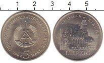 Изображение Монеты ГДР 5 марок 1984 Медно-никель XF