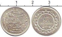 Изображение Монеты Тунис 50 сантим 1916 Серебро XF