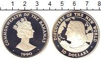 Изображение Монеты Багамские острова 10 долларов 1990 Серебро Proof-