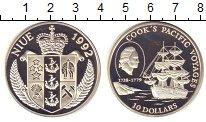 Изображение Монеты Новая Зеландия Ниуэ 10 долларов 1992 Серебро Proof