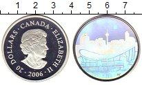 Изображение Монеты Канада 20 долларов 2006 Серебро UNC
