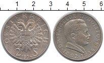 Изображение Монеты Австрия 2 шиллинга 1934 Серебро XF