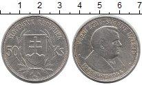 Изображение Монеты Словакия 50 крон 1944 Серебро VF Йозеф  Тисо