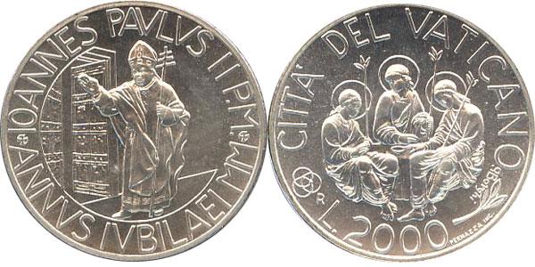 Картинка Подарочные наборы Ватикан Святой год  2000