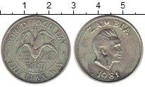 Изображение Монеты Замбия 20 нгвей 1981 Медно-никель UNC-